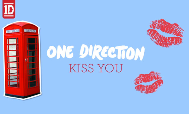 "One Direction: lyric video de ""Kiss You"""