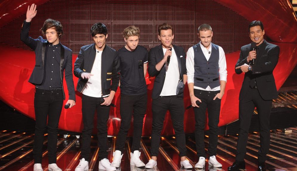 "One Direction: ""Kiss You"" en X-Factor"