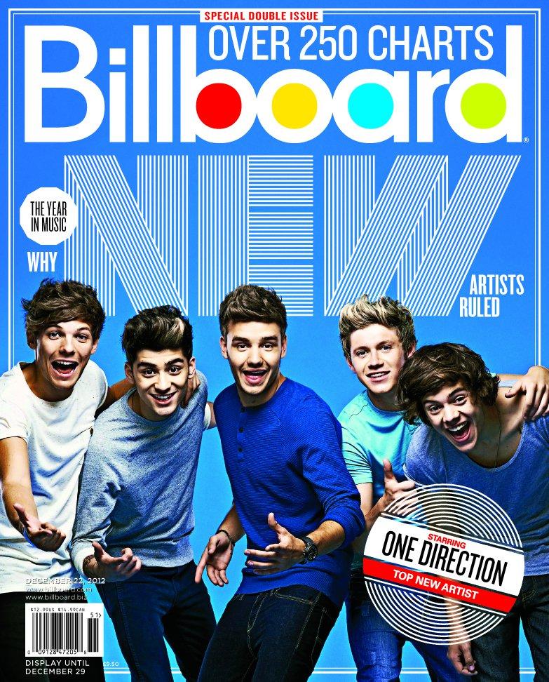 1D triunfadores del año para Billboard