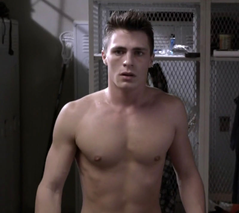 Colton Haynes en Arrow