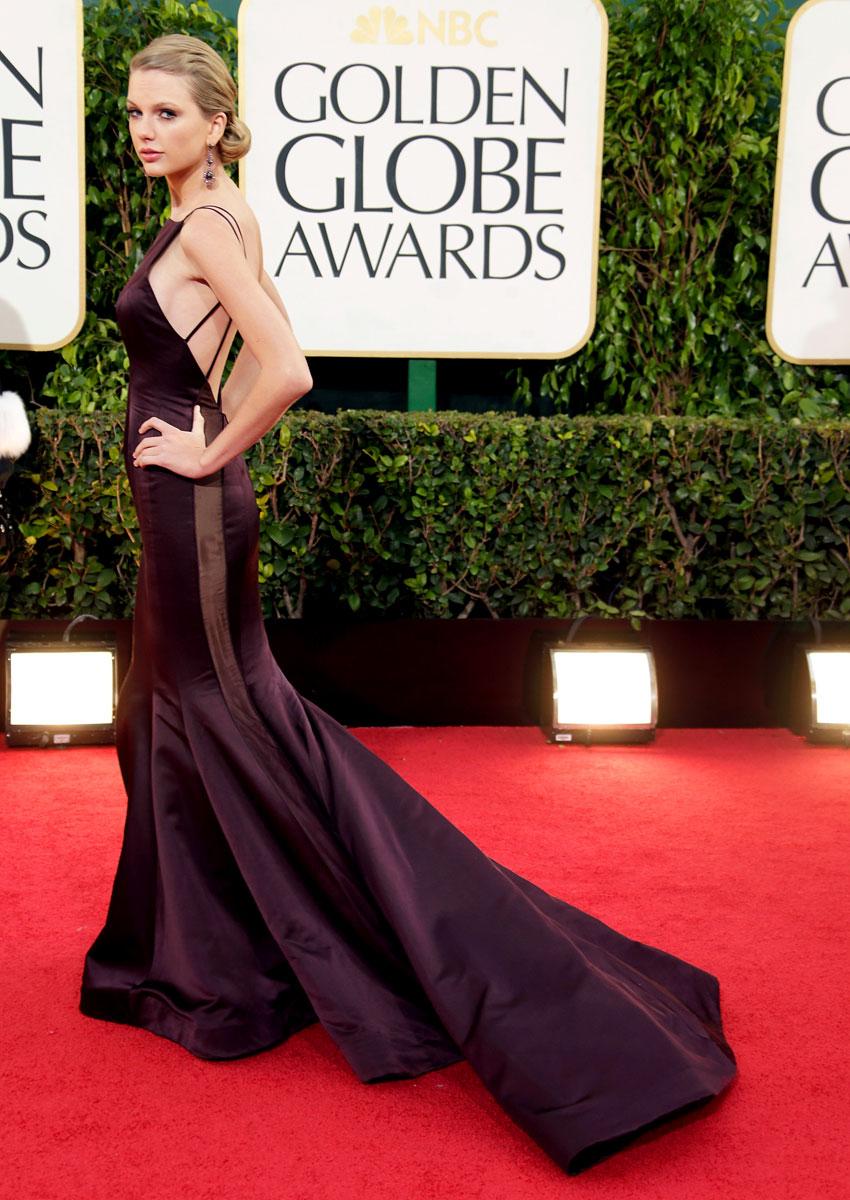 Golden Globe 2013: Taylor Swift se queda sin novio y sin Globo de Oro