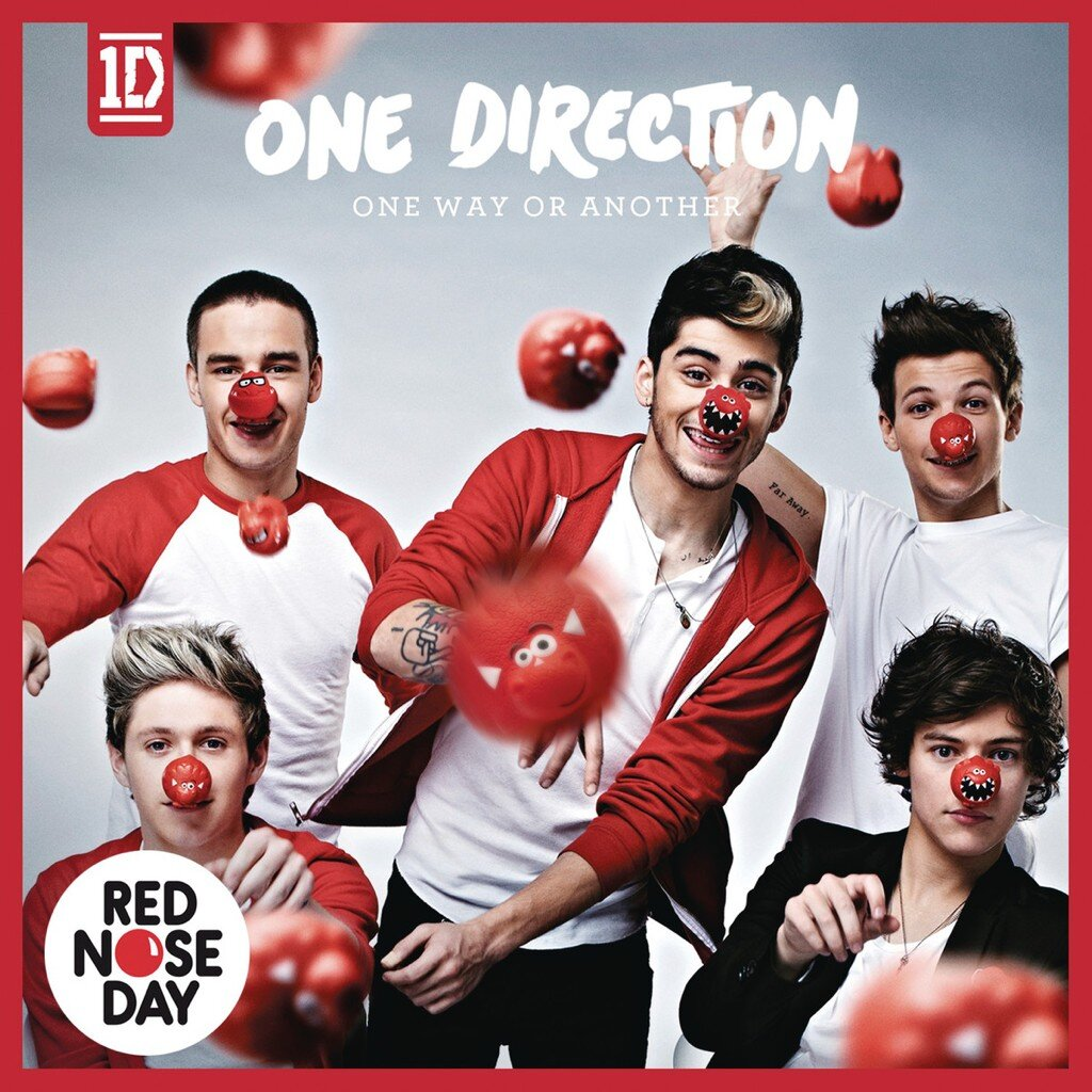 One Direction One Way or Another el single (la portada)