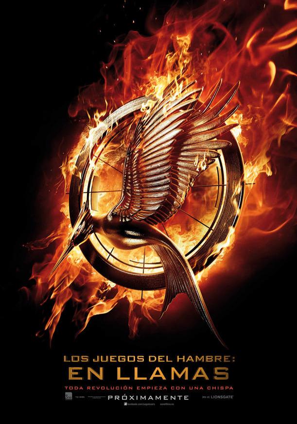 """""""Los juegos del hambre: En llamas"""", póster español"""