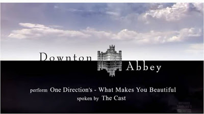 "One Direction: ""Downton Abbey"" canta ""What Makes You Beautiful"""