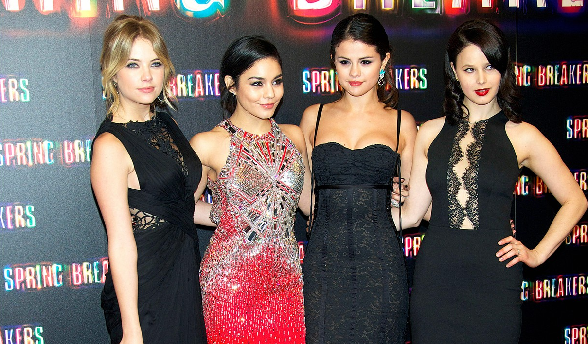 "Selena Gomez, Vanessa Hudgens y Ashley Benson en el estreno de ""Spring Breakers"" en Madrid"