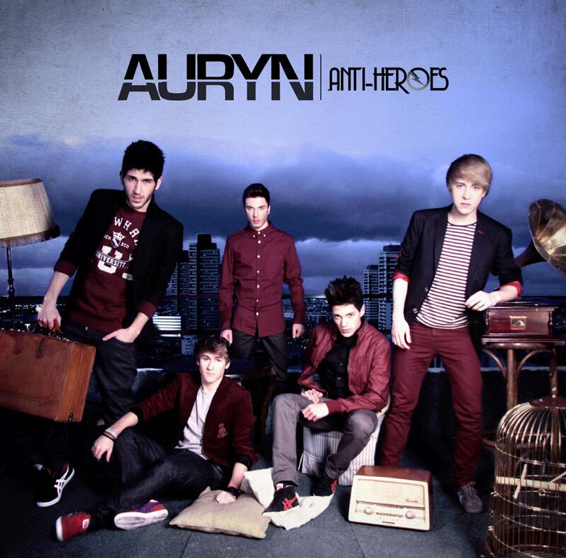 """Auryn estrenan la portada de """"Anti-heroes"""""""