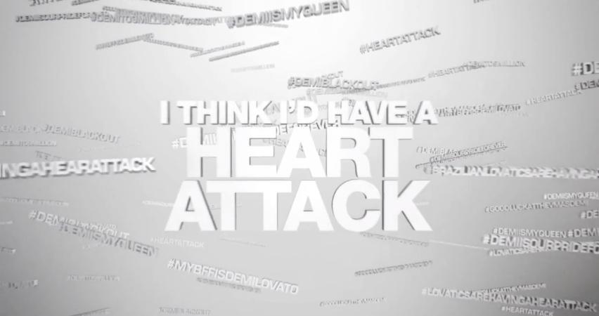 """Demi Lovato estrena vídeoclip para """"Heart Attack"""""""