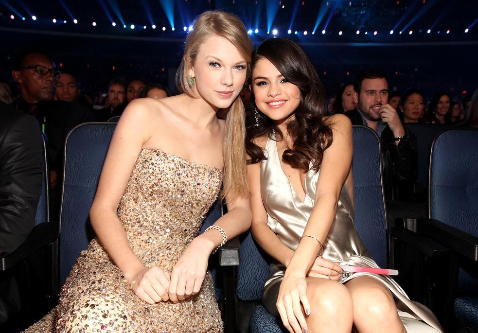 Taylor Swift es el modelo de Selena Gomez