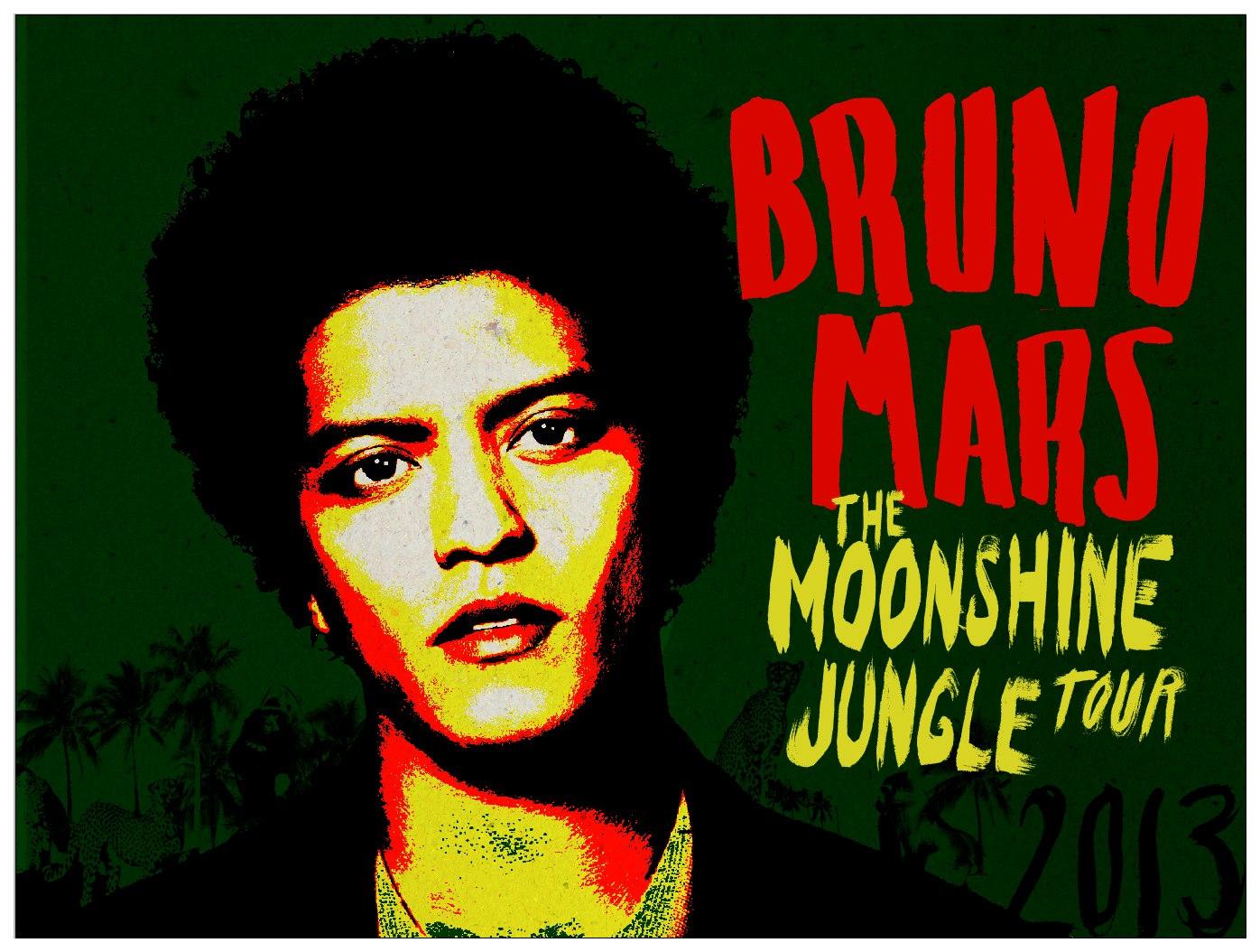 ¡Bruno Mars en concierto en Barcelona!