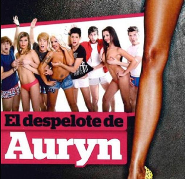 Fotos de Auryn desnudos en Interviú (sin camiseta)