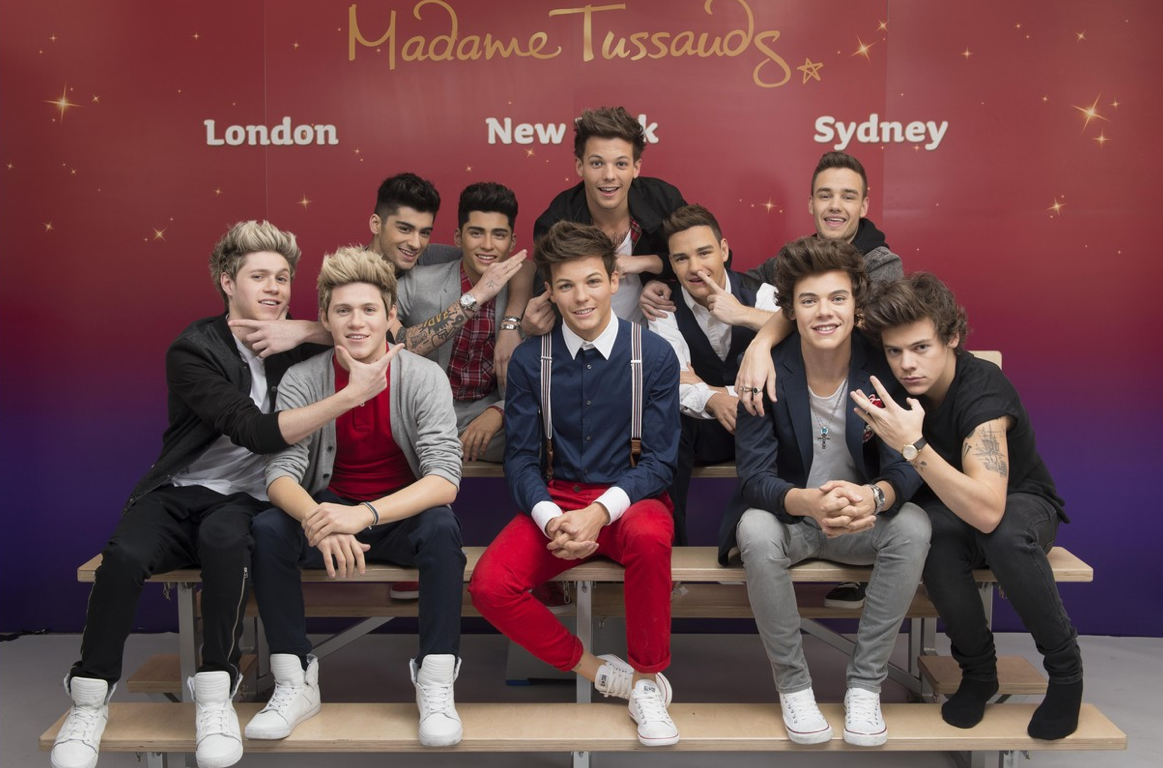 Los muñecos de cera de One Direction ya son una realidad (FOTOS)