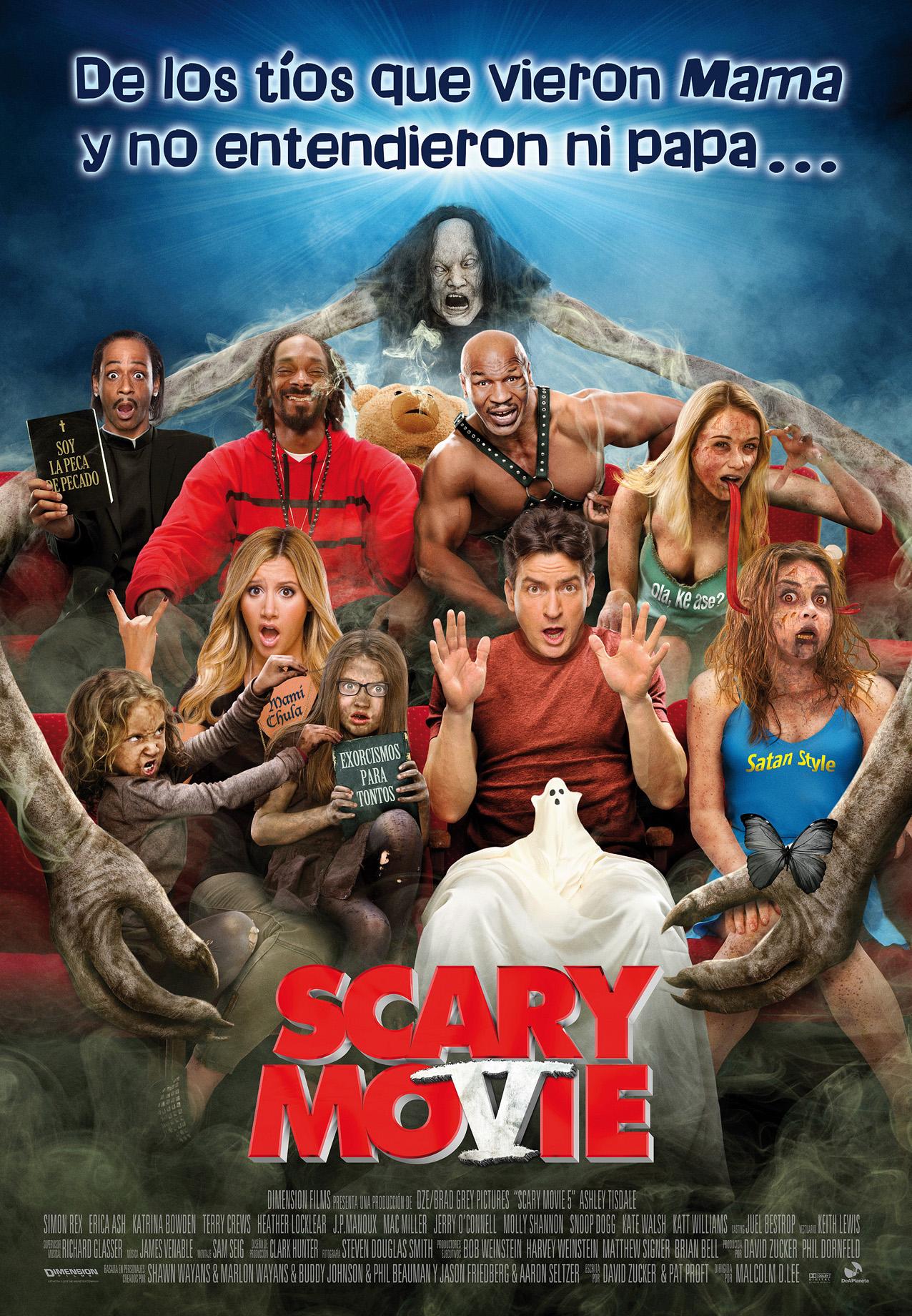 Cartelera de cine: Scary MoVie. Parodias, risas y Lindsay Lohan