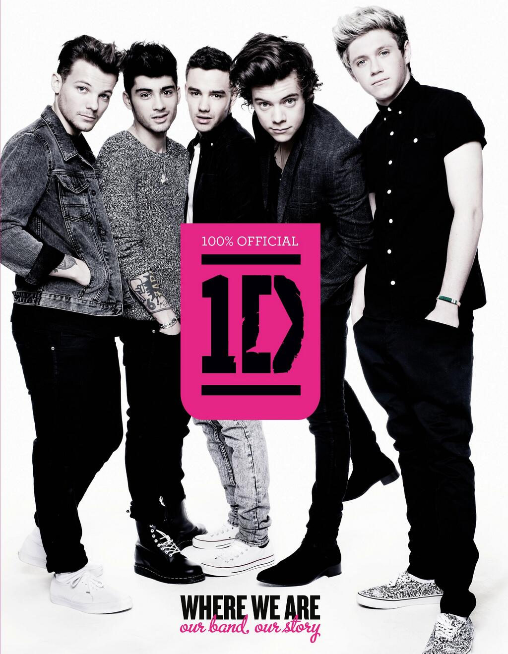 "One Direction estrenan la portada de su nuevo libro ""Where We Are"""