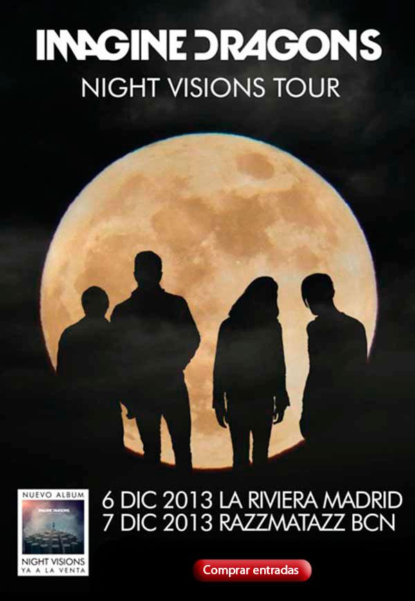 Imagine Dragons visita España y las entradas están ya a la venta