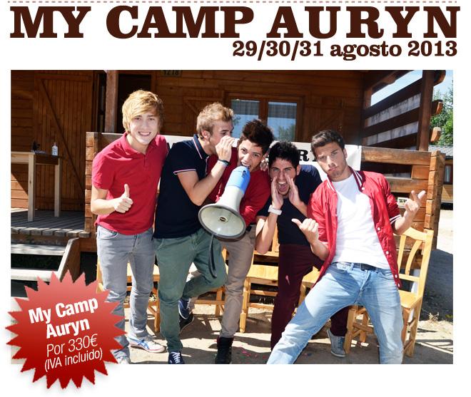 My Camp Auryn 2013: informacion, fechas y precios