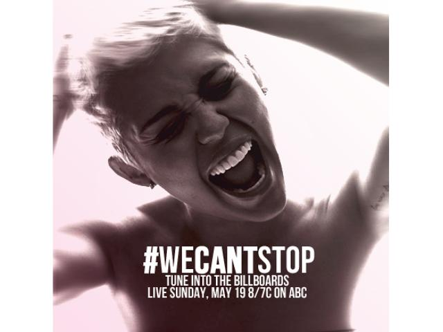 "Miley Cyrus lanza ""We Can't Stop"", su nuevo single"