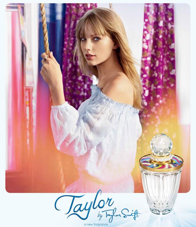 """Taylor Swift tiene nueva fragancia, """"Taylor"""""""