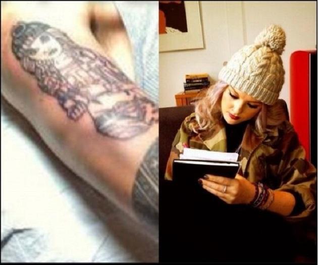 Nuevo tatuaje de Zayn Malik, se tatúa la cara de su novia