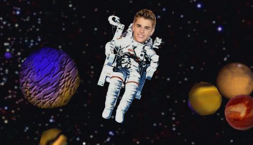 Justin Bieber quiere grabar un vídeo en el espacio
