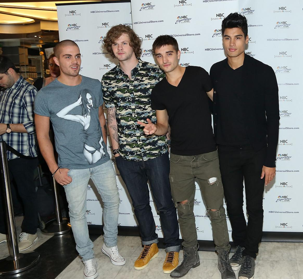 "The Wanted presenta ""Walks Like Rihanna"" por Estados Unidos"