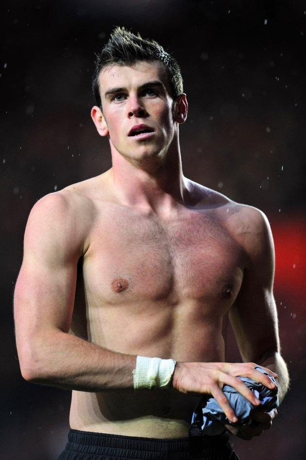 Gareth Bale sin camiseta. ¿El nuevo futbolista del Real Madrid al desnudo?