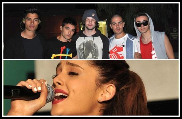 Ariana Grande y The Wanted en concierto en Summer Splash