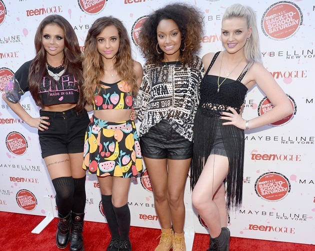 Little Mix en concierto para Teen Vogue