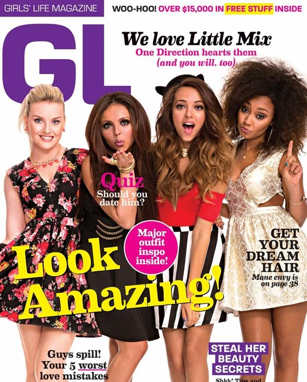 Little Mix en la portada de la revista 'Girl's life'