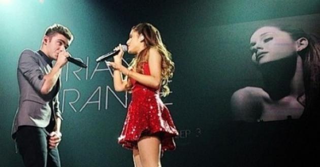 Nathan Sykes cuenta que su familia quedó encantada con Ariana Grande