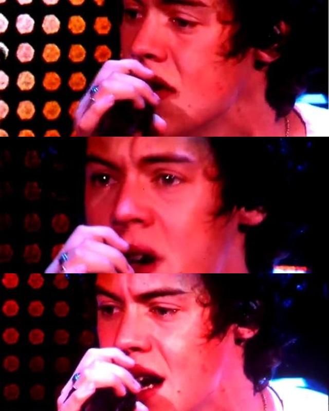 Harry Styles llora en el último concierto de 'Take me home Tour'