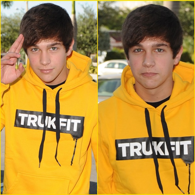 Austin Mahone sale del hospital