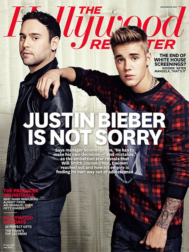 Justin Bieber The Hollywood Reporter