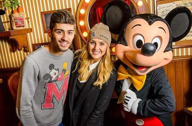 Perrie Edwards se lleva a Zayn Malik a Disneyland como regalo de cumpleaños