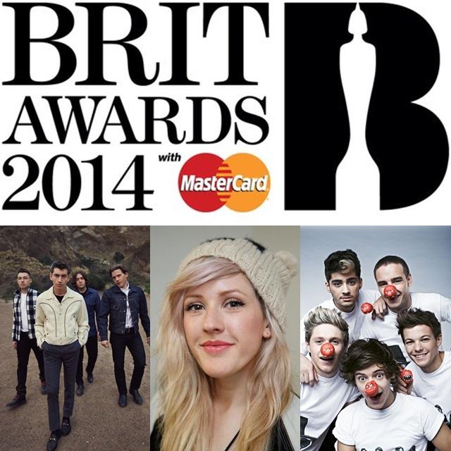 ¡Conoce la lista de los nominados a los Brits 2014!
