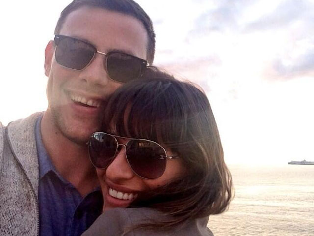 Lea Michele estrena el tema tributo a Cory Monteith