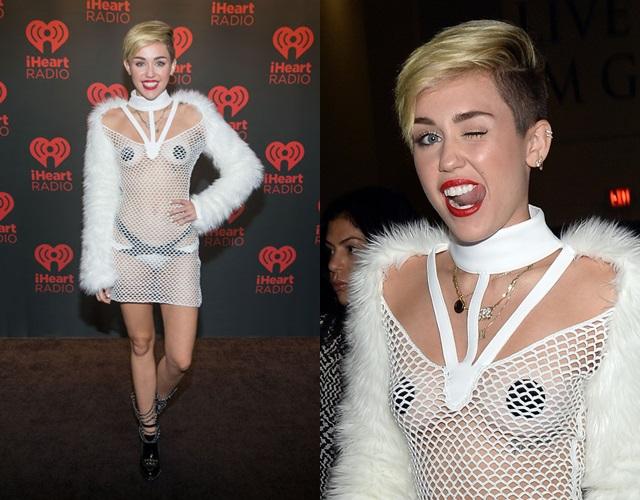 La madre de Miley Cyrus dice que no le gusta que su hija enseñe los pezones