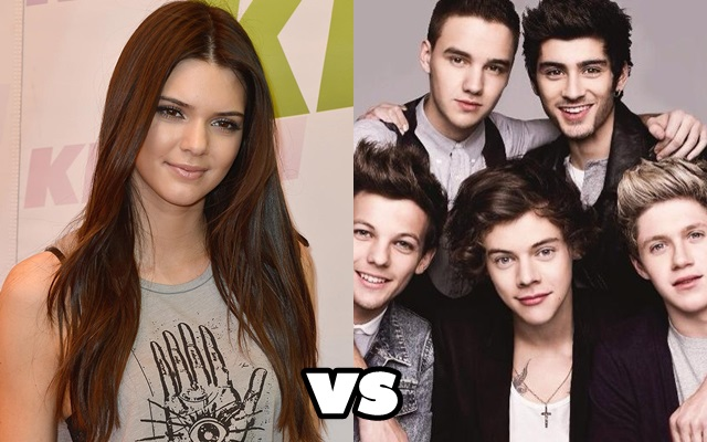 one direction kendall jenner