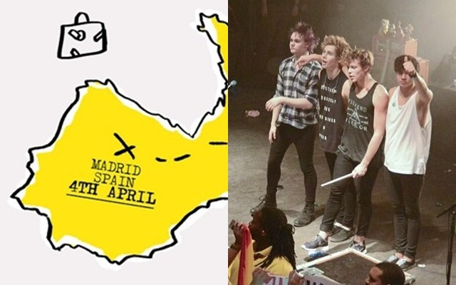 ¡5 Seconds of Summer vienen a España!