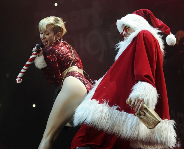 Miley Cyrus, ¿obsesionada con George Clooney?