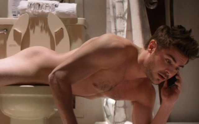 Zac Efron recibirá su MTV Movie Awards ¡semidesnudo!