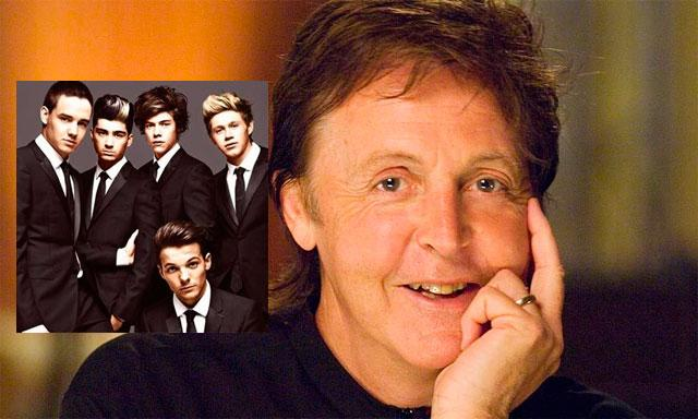 One Direction y Paul McCartney compartirán escenario en Lima