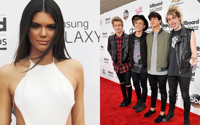 Kendall Jenner confunde a 5 Seconds Of Summer con One Direction