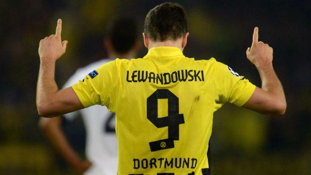 Las mejores fotos de Lewandowski