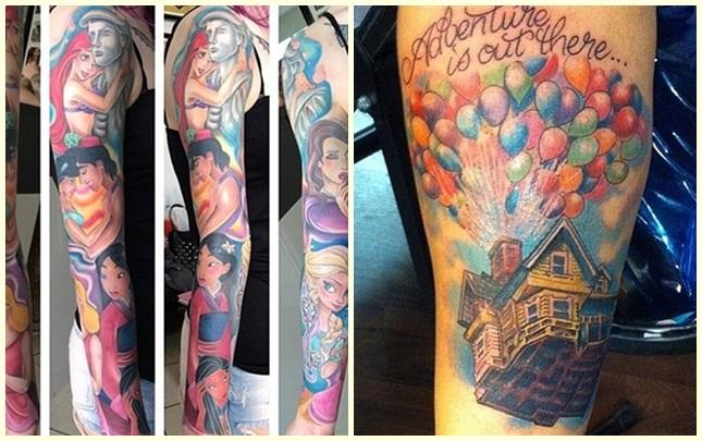 Mejores tatuajes de Disney
