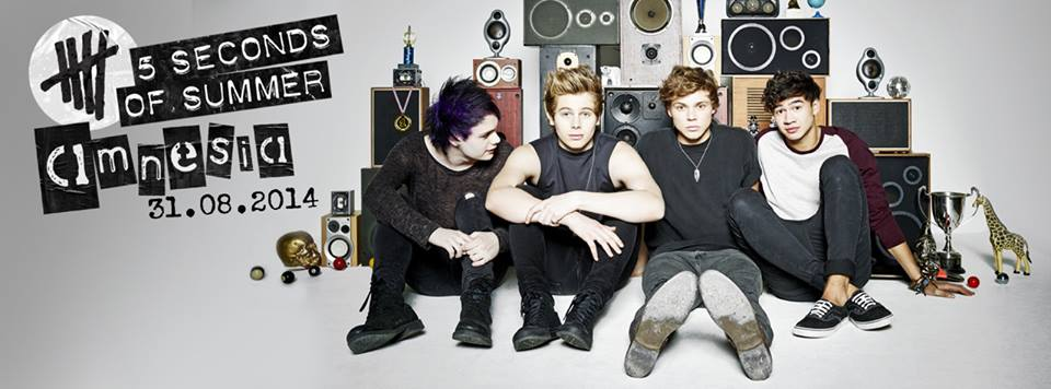 5 Seconds Of Summer estrena el videoclip de 'Amnesia'