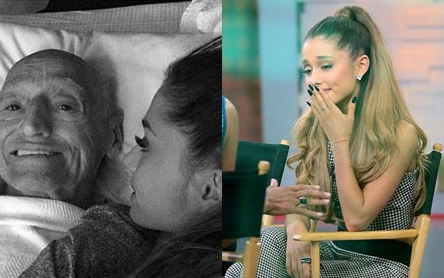 Muere el abuelo de Ariana Grande