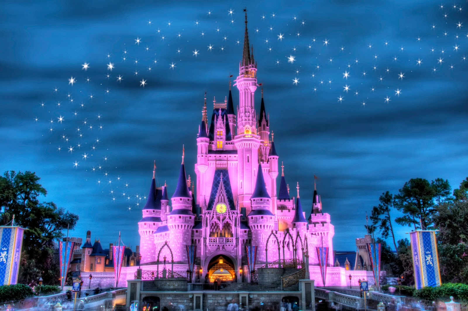 Castillos de las princesas de Disney en los que puedes alojarte