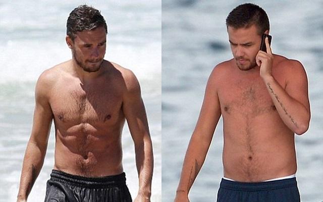 Fans llaman gordo a Liam Payne