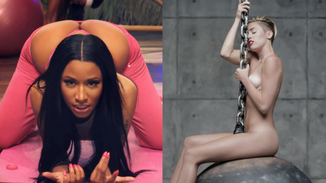 Nicki Minaj supera a Miley Cyrus