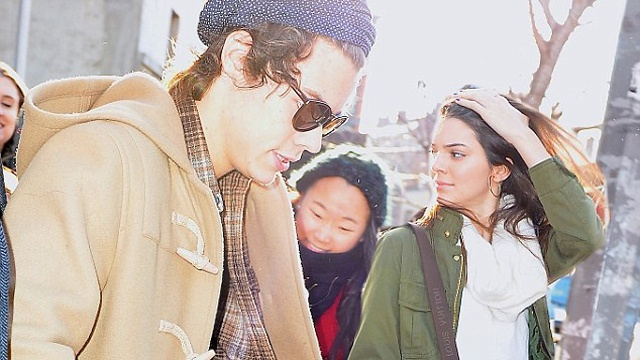 Harry Styles perseguido por Kendall Jenner